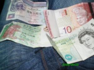 GBP,HK $